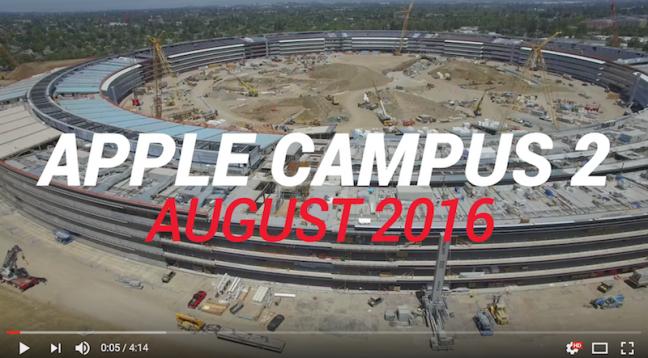 Apple Campus August 2016