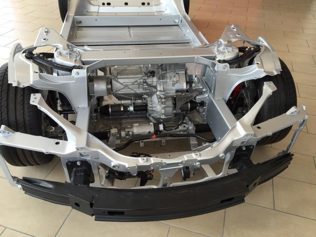 Tesla Battery Frame & Electric Motors