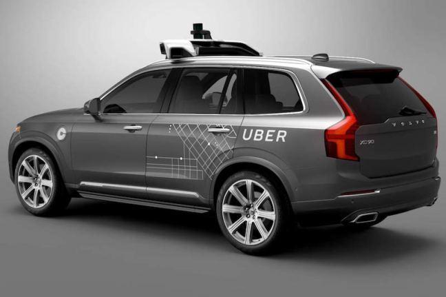 Autonomer Uber Volvo